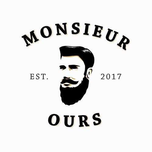 Logo concept for beard brand