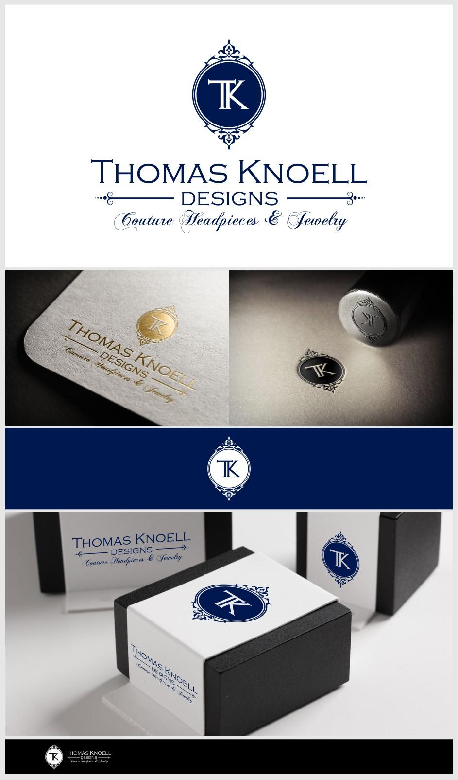 Design a Hi-end vintage inspired filigree image for Thomas Knoell Designs!