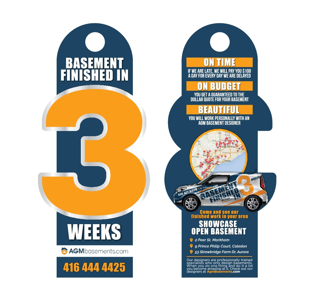 Basement Finished in 3 weeks Flyer