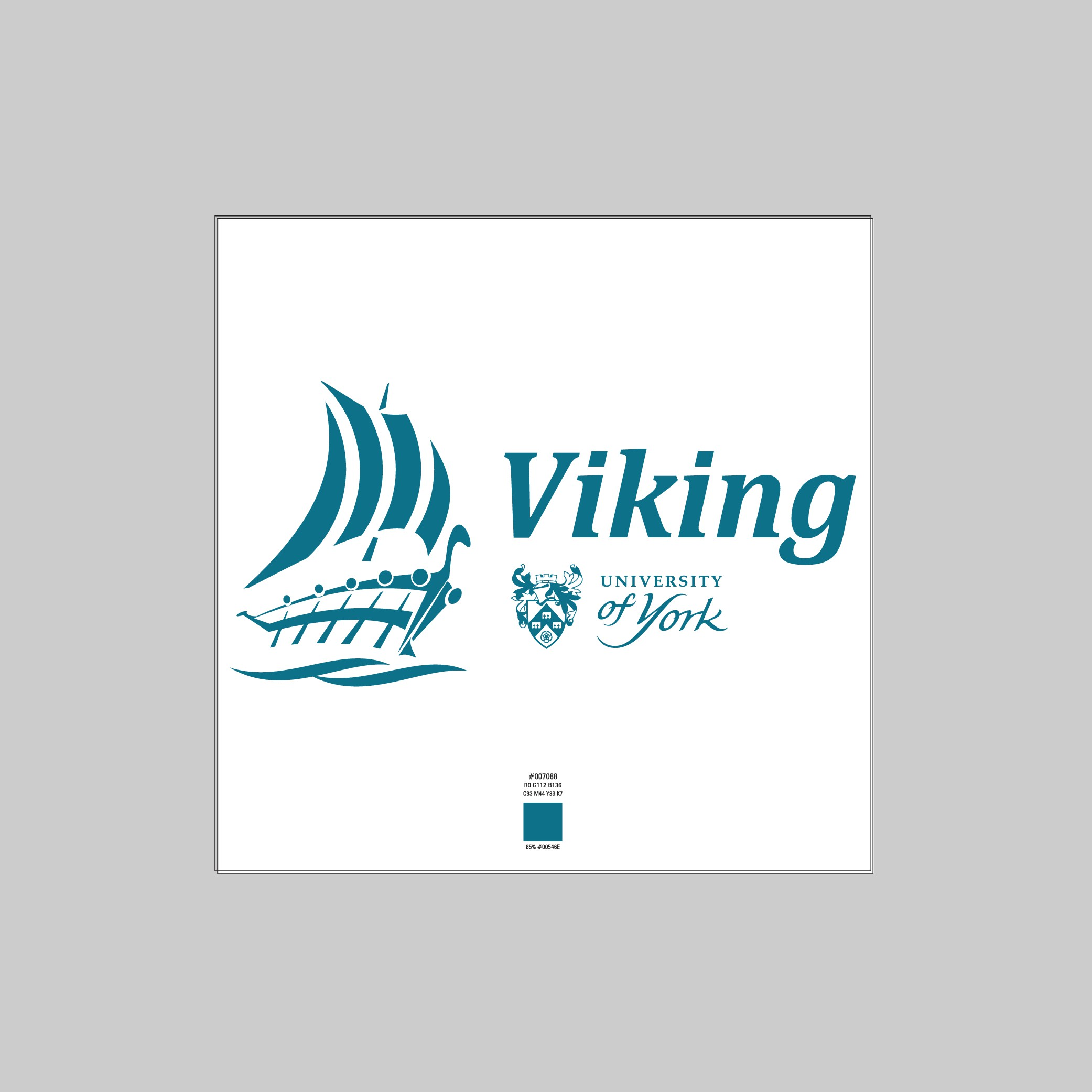 Design a powerful logo for the Viking Supercomputing Cluster