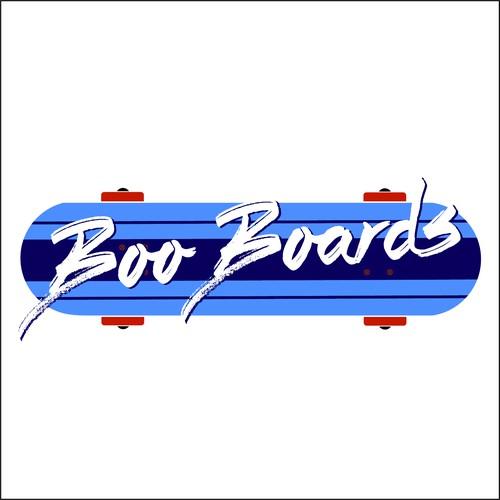 Fun Logo for Skateboarding Meet-up
