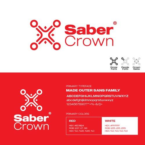 Logo design for Saber Crown