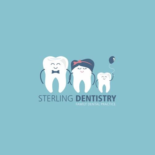 Streling Dentistry logo