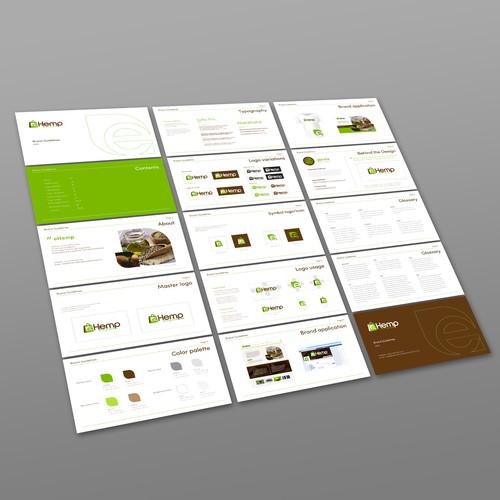 Brand guide for eHemp.com