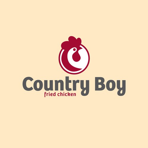 Logo concept for fast food restaurant