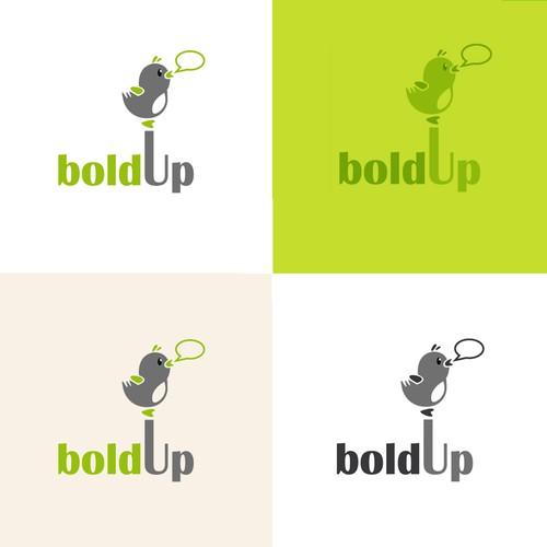 Fin logo concept for a social media company.