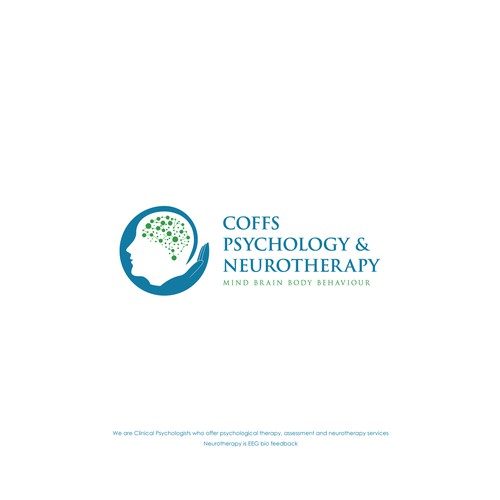 Logo concept for Coffs Psychology & Neurotherapy