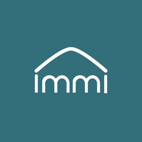simple flat modern logo