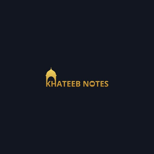 Creative logo for Khateeb Notes