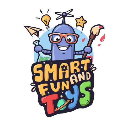 Smart and Fun Toys logo