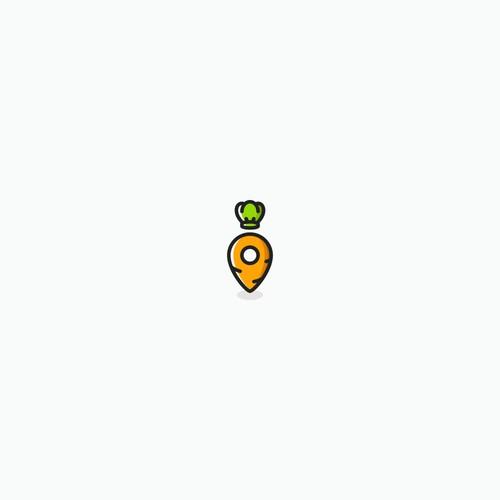 icon for vegan/vegetarian app