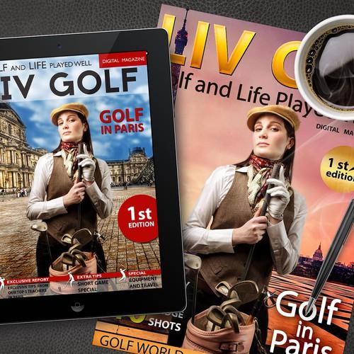 Create a stunning magazine cover