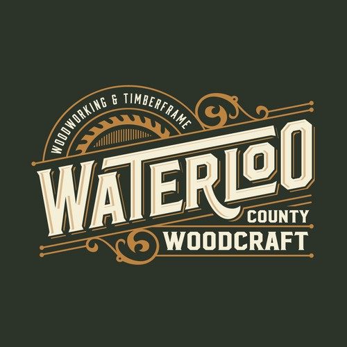 LOGO DESIGN FOR WATERLOO COUNTY WOODCRAFT