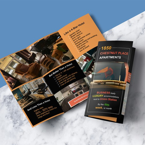 Trifold brochure designs