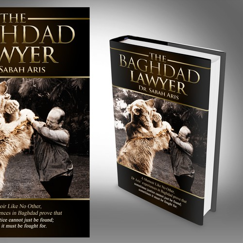 A Classic design for bear fighting lawyer