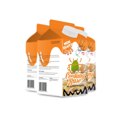 Packaging for Non Diary products.
