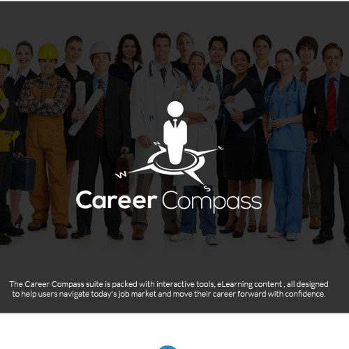 Logo concept for Career Compass