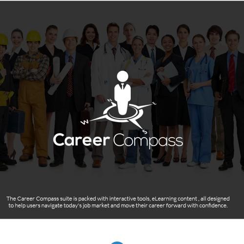Logo concept for Career Compass