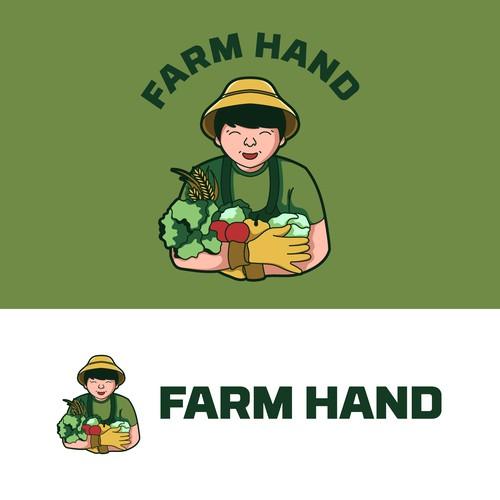 Agricultural Farmer Logo