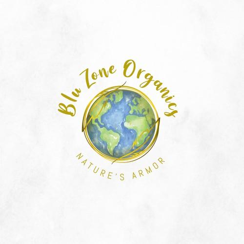 Blue Zone Organics Logo