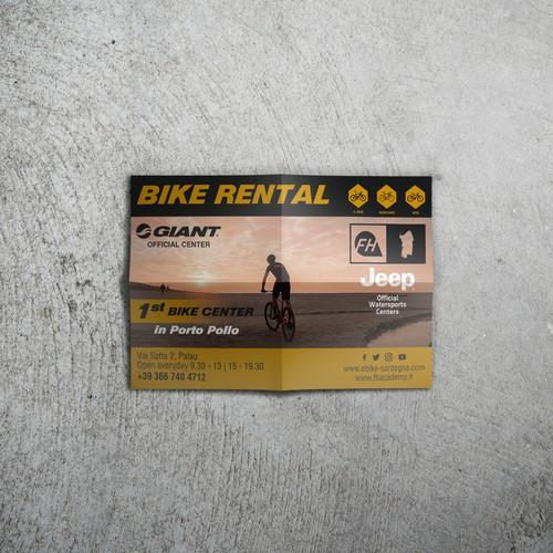 Bike Rental Flyer