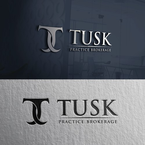 TUSK logo design