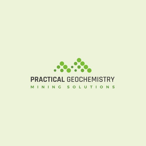 Eye catching logo for environmental consulting company: Practical Geochemistry