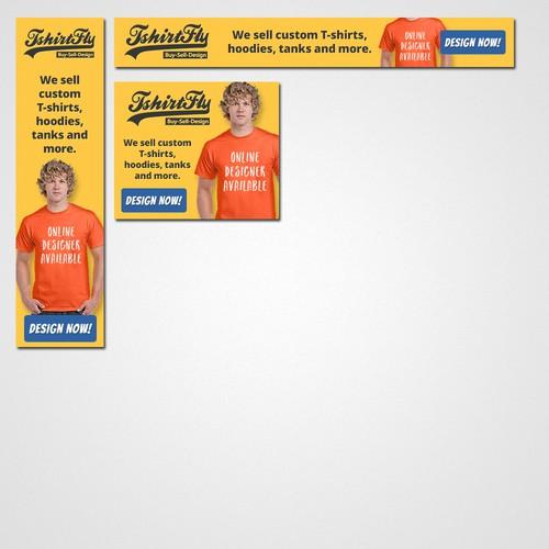 Ad for a tshirt printing