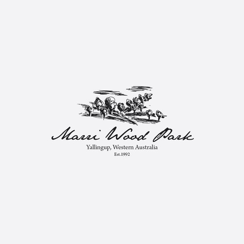 logo for a wine park in western Australia