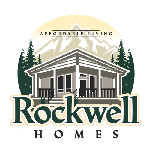 Rockwell Homes logo.
