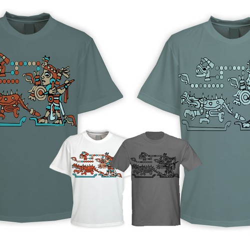 T-shirt Design > Mayan/Aztec Influence