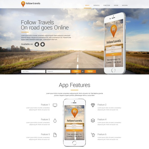 website and phone app design