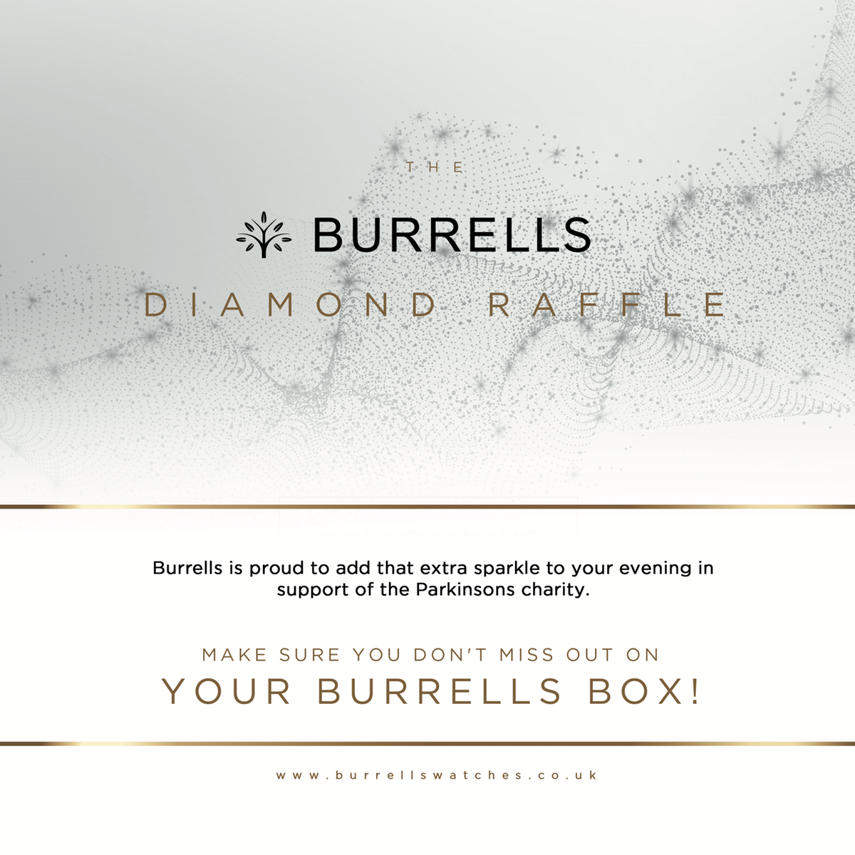 Advert for a Charity Ball