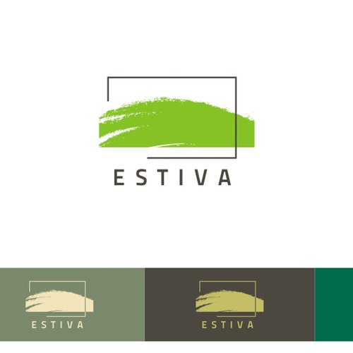 Logo for Estiva, a hip urban apartment develoment