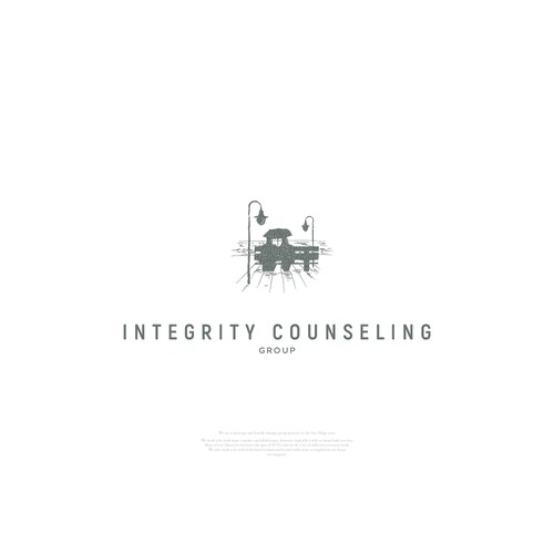 Logo for an addiction counselor