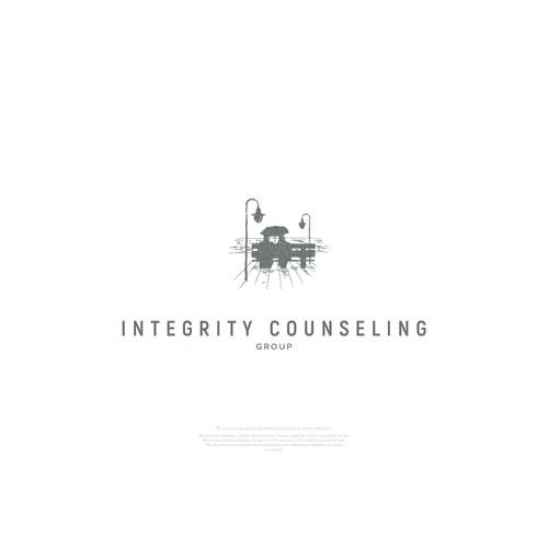 Logo for an addiction counselor