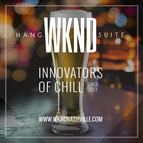 WKND poster design