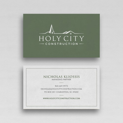 Help us freshen things up with a new business card design!