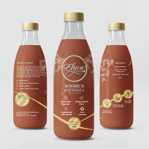 Elyon Promo Bottle Label