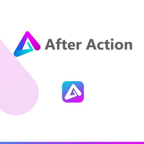 After Action logo design