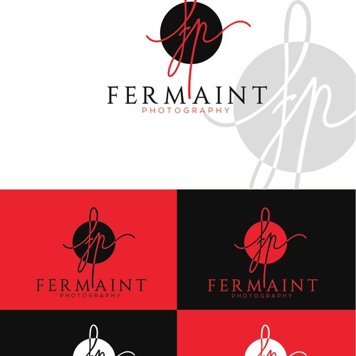 Create an Edgy-Modern-Organic logo for Fermaint Photography