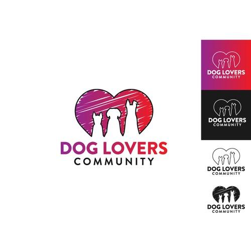Logo for a social platform for dog lovers