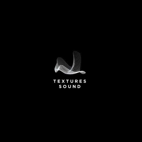 Abstract logo concept for sound designer