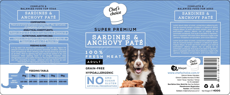 Design a super premium pet food packaging!