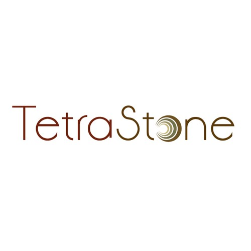 Create the original logo for the new brand 'TetraStone'