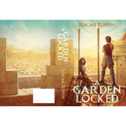 """""""A Garden Locked"""" book cover entry"""