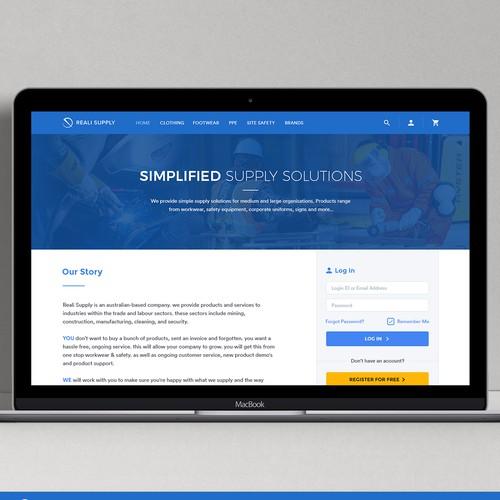 Security Equipment Supply Website