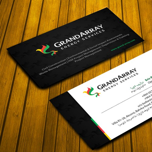 **Business Cards Needed** - GrandArray