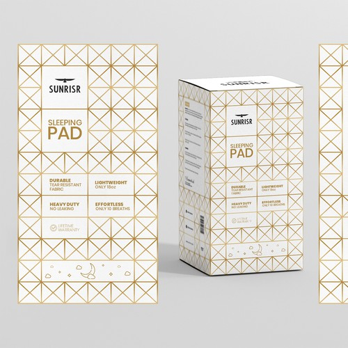 Sleeping Pad Box Design