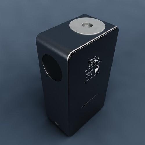 Two Battery Vaping Box Mod Design